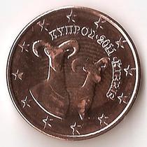 Chipre, 5 Euro Cents, 2011. Brillante Sin Circular