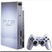 Playstation 2 Slim Chipeada 2 Jostick En Caja