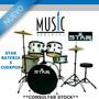 Star Bateria 5 Cuerpos - Bm Music Boulogne -