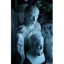 Bustos Greco-romanos Tamaño Natural En Yeso