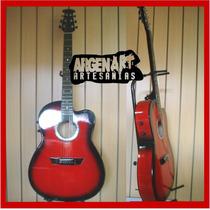 Guitarra Electroacustica-cuerdas Acero Microfono (con Envio