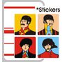 Beatles Stickers O Imanes The Beatles Submarino Amarillo