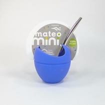 Mate Mateo Mini - Silicona - Magenta Deco - Regalo Original
