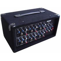 Consola Potenciada Lexsen A6 - 6 Canales 250w