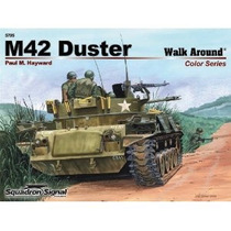 Squadron Walk Around M42 Duster Us Army Vietnam