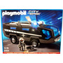 Playmobil 5564 Camion Unidad Especial / Policia-minijuegos!