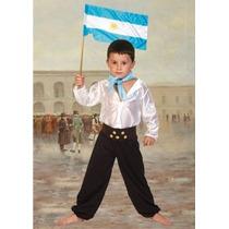 Disfraz De Gaucho Para Niños Talle 1 Al 3