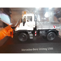 Schuco Mercedes-benz Unimog U300 Imperdible (caballito)