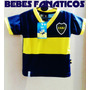 4 Camisetas *x Mayor* Boca Bebe River S Lorenzo Racing Indep