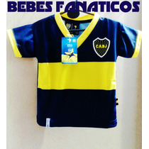 2 Camisetas *x Mayor* Boca Bebe River S Lorenzo Racing Indep