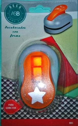 46bd72e24cb Sacabocados C  Forma Estrella Goma Eva Asb 16 Mm.profesional  255 ...