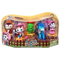 Set Pack Sheriff Callie 5 Personajes 7cm Tv Intek Todoxmia