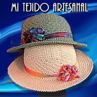 Sombreros Y Gorros Tejidos Al Crochet