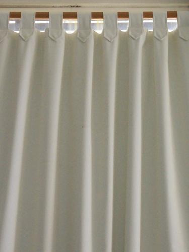 Cortinas De Baño Tela Blanca:Cortinas Listas C/presillas Tela Black-out P/oscurecer Total