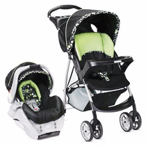 Coche Cuna Graco Travel System C/ Butaca + Base Auto