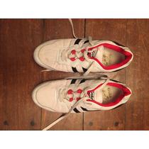 Zapatillas Marca Gola Urbanas Blancas Charoladas Originales