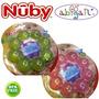Mordillo Redondo Con Gel Nuby +3 Meses Distribuidor Oficial