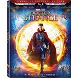 Blu-ray Doctor Strange 3d + 2d + Dvd