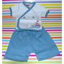 Set Picolo Batita Y Short 2 Colores Talle 00 Little Treasure