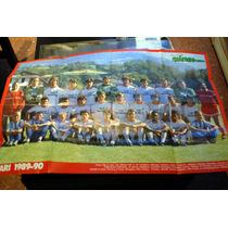 Posters Del Bari Y Del Inter Temporada 1989 1990