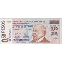 Bono 50 Centavos De Patacon Sin Circular