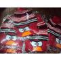 Gorros Niños Angry Birds Abrigaditos Con Pom Pom.