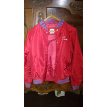 Campera Lacoste Live Roja Talle M -original- Impecable