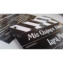 Tarjetas 15 Años Originales Cine