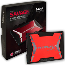 Disco Solido Kingston Hyperx Savage 240gb Ssd Sata 3