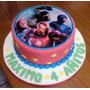 Torta Vengadores Superheroe Hulk Spiderman America Thor Batm