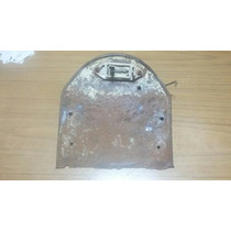Goya Porta Patente Chapa Antigua Moto