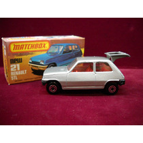 Matchbox N° 21 Renault 5tl Lesney & Co England
