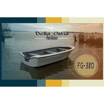 Bote Della Ostia Fg-380 0hs Pesca, Recreacion En Laguna.