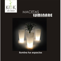 Macetas Luminosas - Oferta 2013!!!!!! Imperdible!!