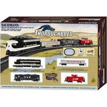 D_t Bachmann Set De Tren Thoroughbred