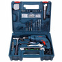 Taladro Percutor Atornillador Bosch Gsb 550w Kit 101 Piezas