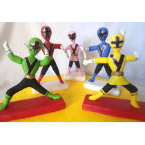 Adorno Para Torta Power Rangers; Mickey, Angry Birds, Buzz