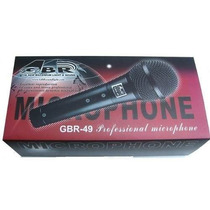 Microfono Gbr 59 Con Cable Dj Garmath