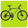 Bicicleta Mountain 26 Aluminio Freno Disco Cambio Shimano 21