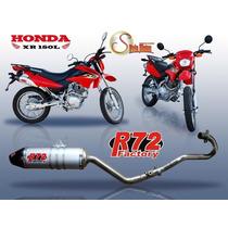 Escape Completo R72 Honda Xr 150l Silviomotos