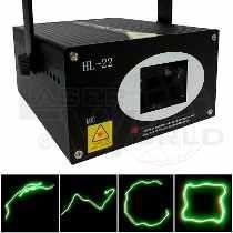 Laser Barrido Audiorítmico 50 Efectos Y Figuras Ver Video!
