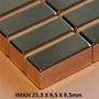 10 Imanes Neodimio Rectangular 25,5x 9,5x9,5 Envio Gratis!!
