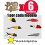Señuelos Bad Line X6 Modelos -weekendpesca-envíos-xmayor