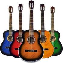 Guitarra Criolla Con Funda Economica Y 2 Puas La Plata