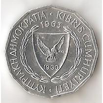 Chipre, Mil, 1963. Sin Circular