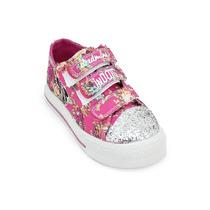 Zapatillas Addnice Minnie Flores C-luz / Originales Deporfan