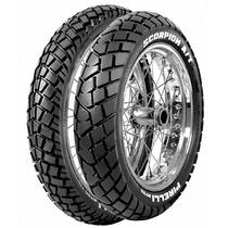 Juego Cubiertas Pirelli Mt90 Trial Honda Tornado/xre 300 Nsr