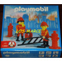 Playmobil Set De Bomberos Seguridad Ambiental 19507 1-9507