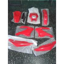 Kit Plasticos Honda Bross 125 / Motomel Skua 150 Con Farol