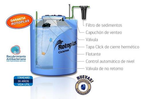 Rotoplas tanque cisterna 1100 lts envio gratis caba y gba for Rotoplas 1100 litros